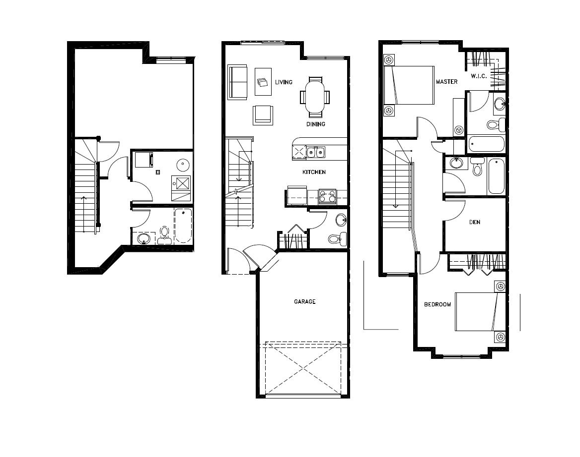 2.5 Storeys Floor Plan